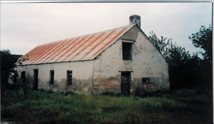 Old building on Awila